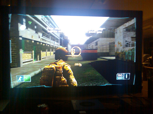 "Ghost Recon Advanced Warfighter på Palsgaards 40"" Samsung HDTV. 5/17"