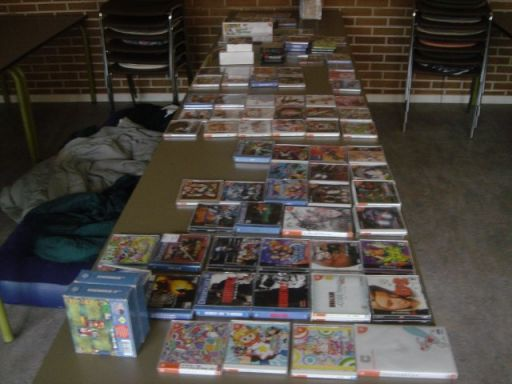 En Dreamcast-samling. 3/17
