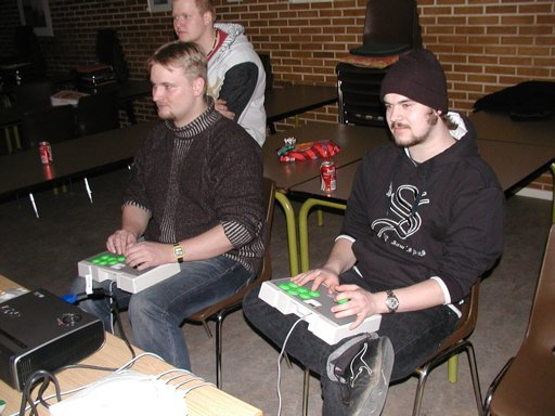 KTC og Konsolkongen i 2d-fighters på Dreamcast (vist nok). 16/35