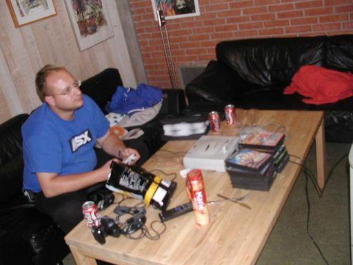 Msxtrd leger med dårlige Saturn-spil - en udbredt beskæftigelse til træffet, der blandt andet gav sjælden spilletid til Independence Day og Street Fighter: The Movie. 10/18
