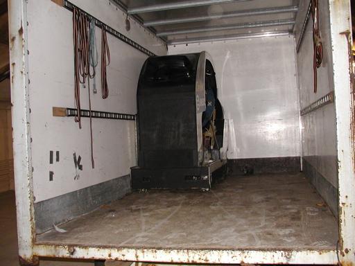 Cisco Heat ombord på lastbilen. 10/43