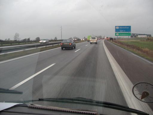 Monoton kørsel der går endnu langsommere, nu der er fuldt læs på. 13/43