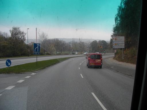 Hurtigere går det heller ikke af at broskrækken nødvendigører en tur gennem Vejle fremfor Vejlebroen. 19/43