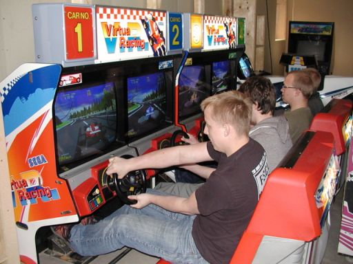 Gang i Virtua Racing. 22/49