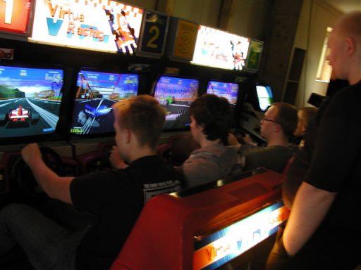 Mere kamp i Virtua Racing. 25/49
