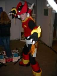 Den formentlig sejeste spil-cosplayer i år var denne gut som <a href='info/soeg?titel=Mega Man Zero&_submit=1'>Mega Man Zero</a> (og der var endda en Sephiroth-cosplayer, så det siger alligevel noget). 63/278
