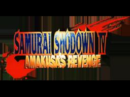Samurai Shodown IV: Amakusa's Revenge (MVS)  © SNK 1996   1/1