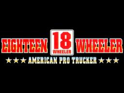 18 Wheeler: American Pro Trucker (ARC)  © Sega 2000   1/2