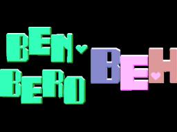 Ben Bero Beh (ARC)  © Taito 1984   1/1