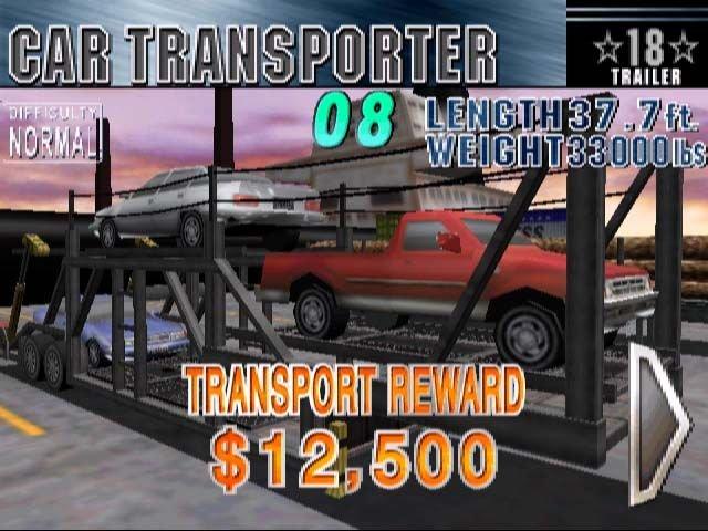 18 Wheeler: American Pro Trucker  © Acclaim 2001  (DC)   4/4
