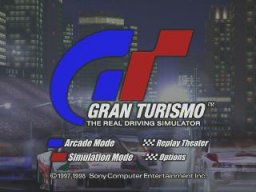 Gran Turismo (PS1)  © Sony 1997   1/3
