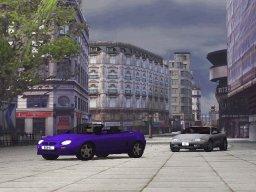 Metropolis Street Racer (DC)  © Sega 2000   1/4