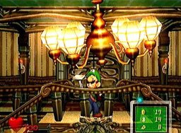 Luigi's Mansion (GCN)  © Nintendo 2001   1/4