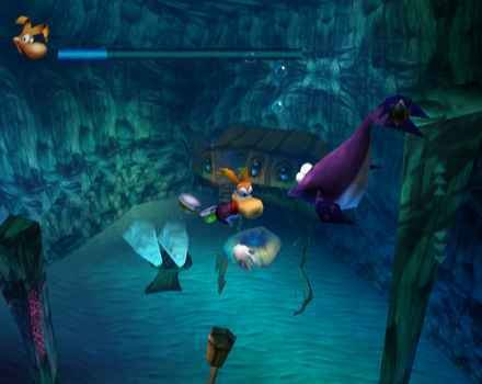 Rayman 2: The Great Escape (DC)   © Ubisoft 2000    4/4