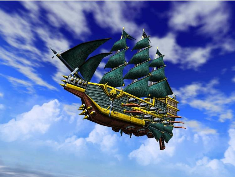 Skies Of Arcadia (DC)   © Sega 2000    5/10