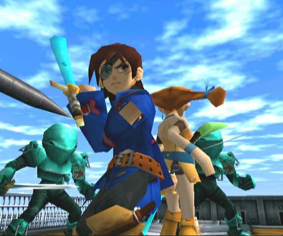 Skies Of Arcadia (DC)   © Sega 2000    10/10