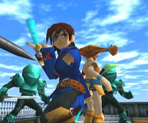 Skies Of Arcadia (DC)  © Sega 2000   10/10