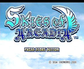 Skies Of Arcadia (DC)   © Sega 2000    8/10