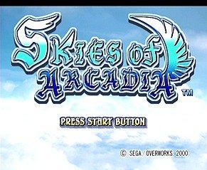Skies Of Arcadia (DC)  © Sega 2000   8/10