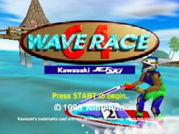 Wave Race 64 (N64)  © Nintendo 1996   1/3