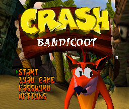 Crash Bandicoot (PS1)   © Sony 1996    1/3