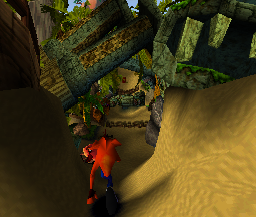 Crash Bandicoot (PS1)   © Sony 1996    2/3