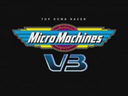 Micro Machines V3 (PS1)  © Codemasters 1997   1/3