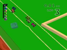 Micro Machines V3 (PS1)  © Codemasters 1997   2/3