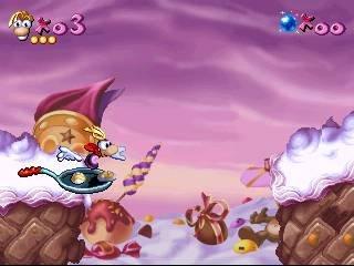 Rayman (PS1)  © Ubisoft 1995   19/19