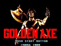 Golden Axe (SMS)  © Sega 1989   1/3