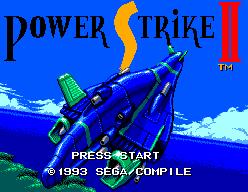 Power Strike II (SMS)  © Sega 1993   1/3