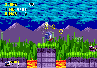 Sonic The Hedgehog (SMD)  © Sega 1991   4/4