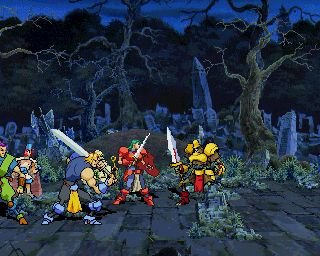 Guardian Heroes (SS)  © Sega 1996   10/16