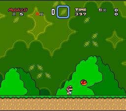Super Mario World (SNES)  © Nintendo 1990   2/4
