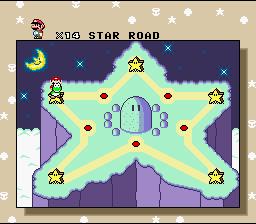 Super Mario World (SNES)  © Nintendo 1990   3/4
