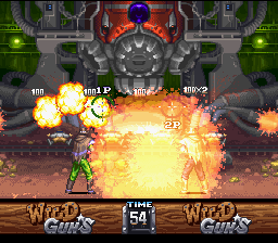 Wild Guns (SNES)  © Natsume 1994   4/5