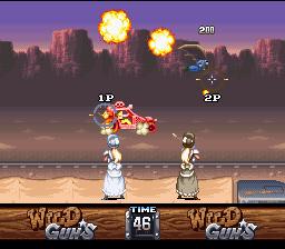 Wild Guns (SNES)  © Natsume 1994   5/5