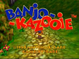 Banjo-Kazooie  © Nintendo 1998  (N64)   1/2