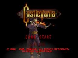 Castlevania (1999) (N64)  © Konami 1999   1/3