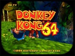 Donkey Kong 64 (N64)  © Nintendo 1999   1/4