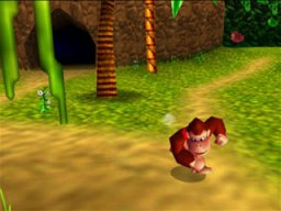 Donkey Kong 64 (N64)  © Nintendo 1999   3/4