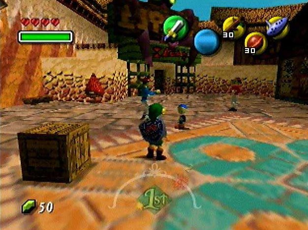 The Legend Of Zelda: Majora's Mask   © Nintendo 2000   (N64)    13/27