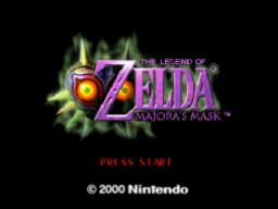The Legend Of Zelda: Majora's Mask   © Nintendo 2000   (N64)    1/27