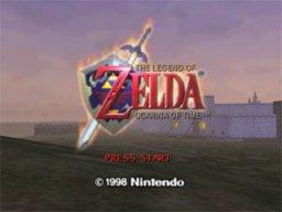 The Legend Of Zelda: Ocarina Of Time  © Nintendo 1998  (N64)   1/9