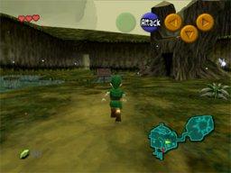 The Legend Of Zelda: Ocarina Of Time  © Nintendo 1998  (N64)   2/9