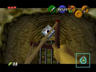 The Legend Of Zelda: Ocarina Of Time  © Nintendo 1998  (N64)   4/9
