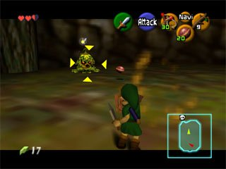 The Legend Of Zelda: Ocarina Of Time  © Nintendo 1998  (N64)   5/9