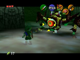 The Legend Of Zelda: Ocarina Of Time  © Nintendo 1998  (N64)   6/9