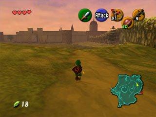 The Legend Of Zelda: Ocarina Of Time  © Nintendo 1998  (N64)   8/9