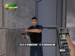 007: The World Is Not Enough (PS1)   © EA 2000    1/1